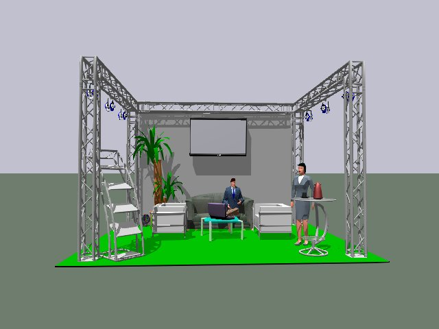 Messestand; Standkonzept; Planung; Messemöbel; Messe-Equipment